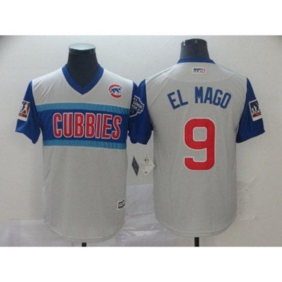 MLB Other - Chicago Cubs Javier Baez El Mago #9 Jersey